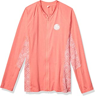 Rip Curl Trestles Long Sleeve Zip UP Rash Guard