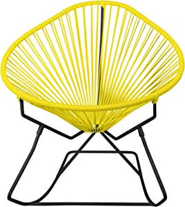 Innit Designs 15-01-03 Junior Acapulco Rocker, Yellow On Black