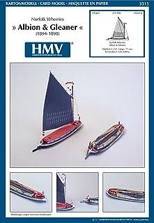 HMV3315 ノーフォーク・ウェリーズ・アルビオン&グリーナー 1:250<カードモデル>