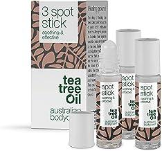 Australian Bodycare Spot Stick 3x9ml | Mot pormaskar, finnar och oren hud | Tea Tree Oil från Australien motverkar bakteri...