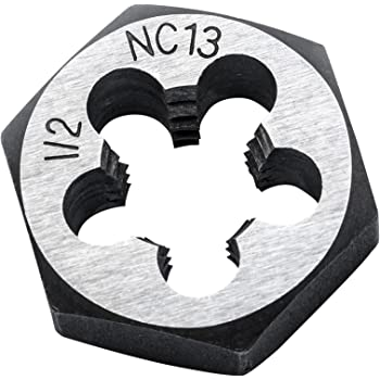 Black Apex Tool Group GEARWRENCH 82875N 18mm x 2.50 NC Hex Die