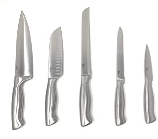 Cuisinart Colored Metallic Knife Set (5-pc Stainless)