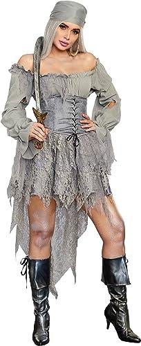 estilo clásico Wohombres Ghost Pirate Fancy Dress Costume X-Large X-Large X-Large  Obtén lo ultimo