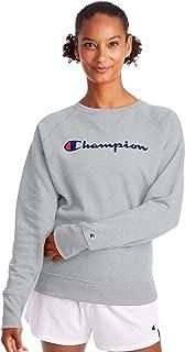 رقبة مستديرة للنساء من Champion، رمادي أكسفورد، مقاس 2X Large
