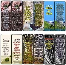Powerful Bible Verses Bookmarks - Spiritual Growth (12-Pack) - Inspiring Scripture Texts About How to Grow Spiritually