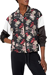PUMA womens Trend All Over Print Woven Jacket
