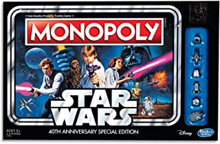 Monopoly - Star Wars 40th Anniversary Special Edition - Family Board Game