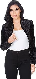 Best short velvet jacket womens Reviews