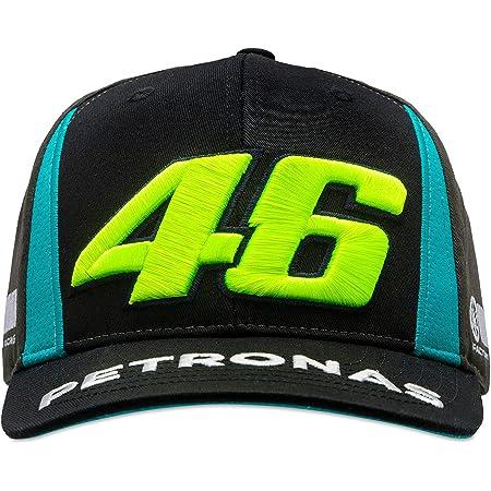 Valentino Rossi Petronas VR46 Gorra, Hombre, Negro, One Size