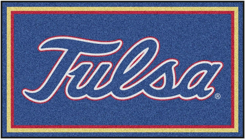 University of Tulsa NEW 3ft. x Plush Max 66% OFF 5ft. Area Rug