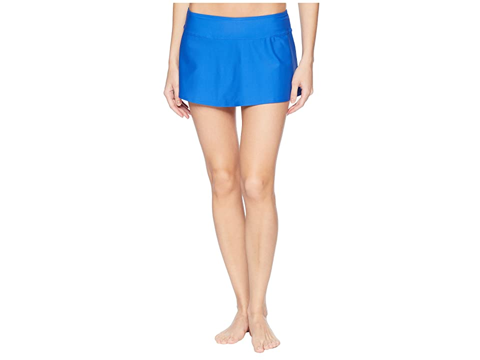 Prana Sakti Swim Skirt (Island Blue) Women