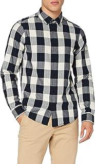 Scotch & Soda Regular Fit-Classic Check Shirt Camicia Uomo