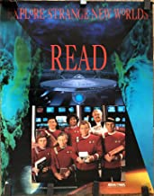 Star Trek Original Cast Undiscovered Country American Library Association Read Poster