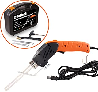 RoMech Foam Cutter - Air Cooled Pro Electric Hot Knife (200W) - Continuous-Use Styrofoam Cutting Tool Kit- with Blades & Accessories