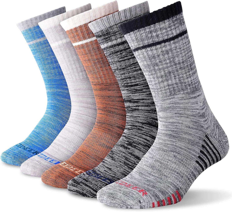 Men's Spasm price Hiking Walking Socks Wicking Cushioned Rare Multi-Pack FEIDEER