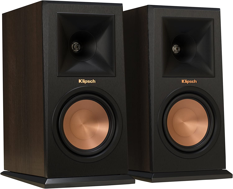 Klipsch RP-150M Max 50% OFF New Shipping Free Walnut Pair Bookshelf Speaker