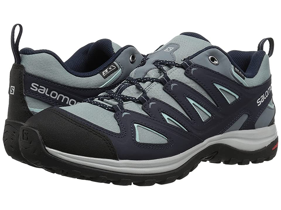 Salomon Ellipse 3 CS WP USA (Lead/Night Sky/Canal Blue) Women
