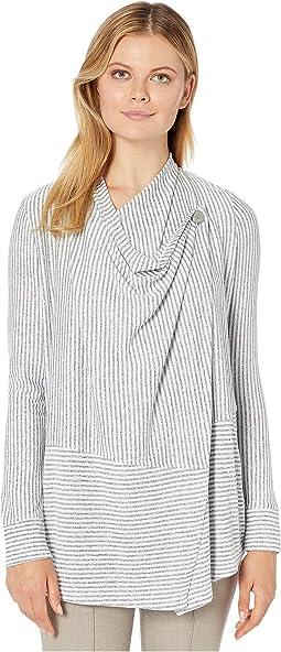 Stripe Marl Jersey Black/Grey
