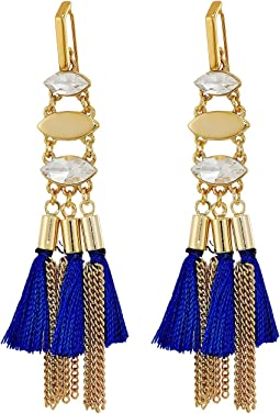 Rebecca Minkoff - Tassel and Fringe Chandelier Earrings