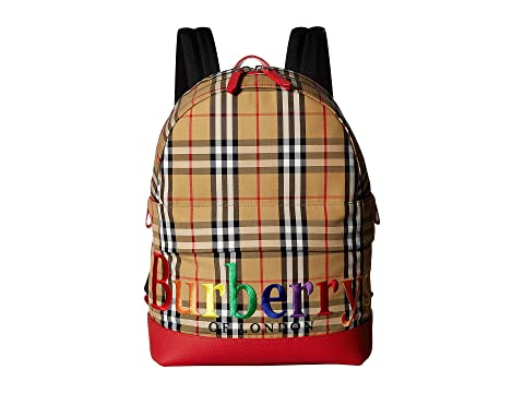 Burberry Kids Nico Backpack At Luxury Zappos Com