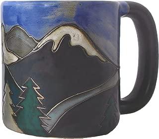 Mara Stoneware Mug - Snowy Mountains - 16 oz