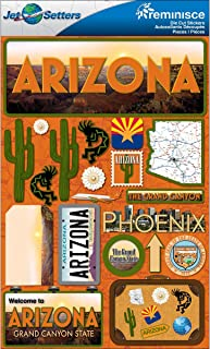 Reminisce Jet Setters 2 3-Dimensional Sticker, Arizona