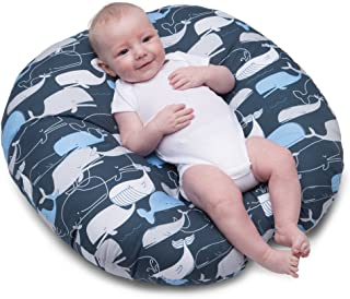 Tumbona Boppy Newborn Big Whale Navy