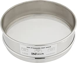 Newark Wire 0301680#140 Full U.S. Standard Stainless Steel Soldered Sieve Const, 106 um, 8""