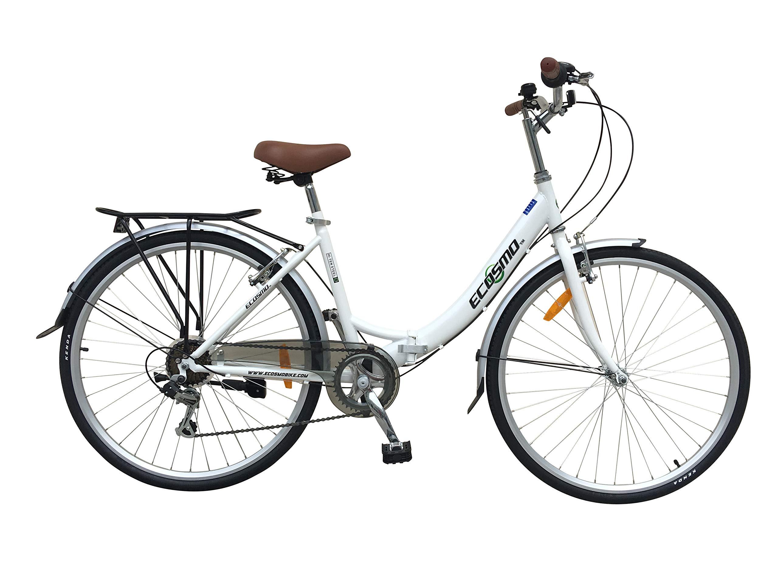 Bicicleta plegable para mujer, para ciudad, 26 pulgadas, 7 ...