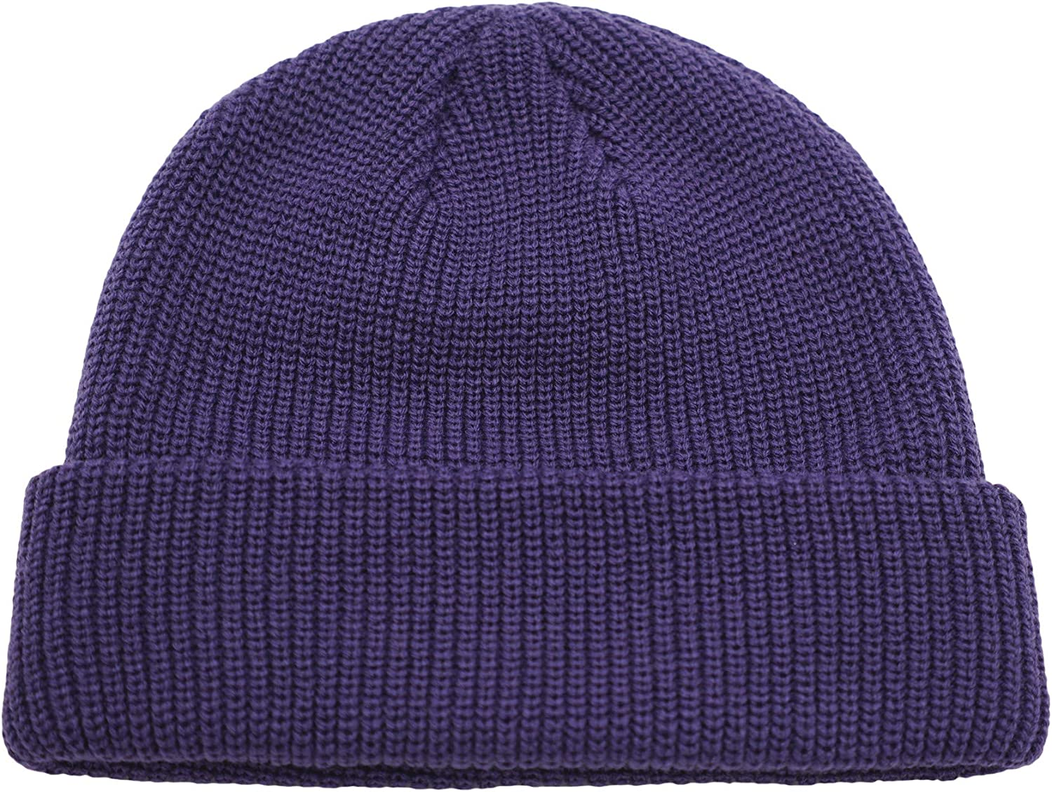 Connectyle Max 49% OFF Classic Men's Warm Winter Knit Cuff Hats Bean Daily bargain sale Acrylic
