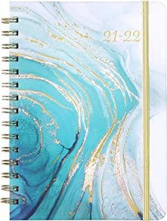 """2021 Planner - Weekly & Monthly Planner 2021 with Monthly Tabs, 6.37""""x 8.46"""", Jan. 2021 - Dec. 2021, Elastic Closure"""
