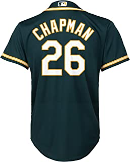 5530b10a2 Matt Chapman Oakland Athletics #26 Green Youth Cool Base Alternate Replica  Jersey