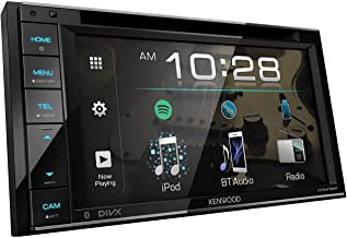 """Kenwood 6.2"""" Double Din Touchscreen DVD CD Bluetooth USB iPod Android Siri Eyes Free.."""