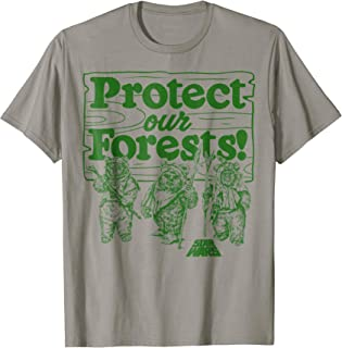 Ewoks Protect Our Forests Camp Graphic T-Shirt
