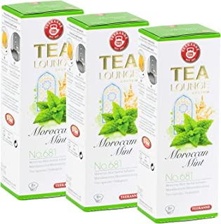 Teekanne Tealounge Kapseln - Moroccan Mint No. 681 Kräutertee Mischung 3 x 8 Kapseln