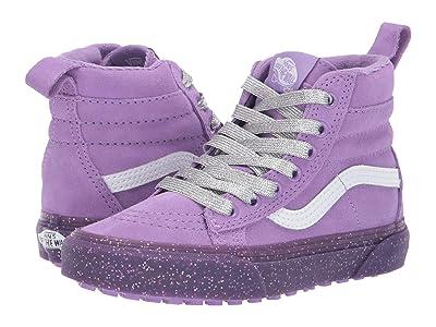 Vans Kids SK8-Hi MTE (Little Kid/Big Kid) ((MTE) Glitter Sidewall/Fairy Wren) Girls Shoes