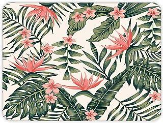 Botanik Desenli | Cam Kesme Tahtası (30cm x 40cm)