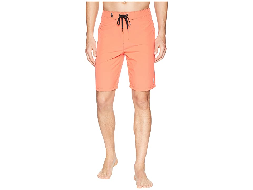 Hurley Phantom One Only 20 Stretch Boardshorts (Rush Coral) Men