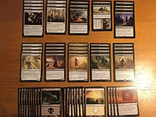 Elite Black White Zombie Deck - Modern Legal - Custom Built - Magic The Gathering - MTG - 60 Card
