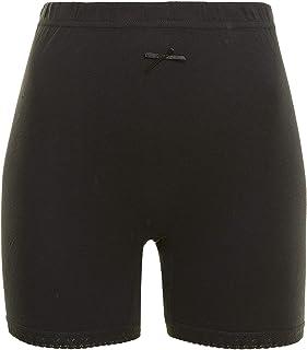Mariposa Women's Cotton Inner Short Tights (XXL, Black)