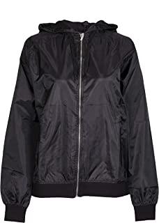 NOROZE Womens Bomber Style Raincoat Jacket