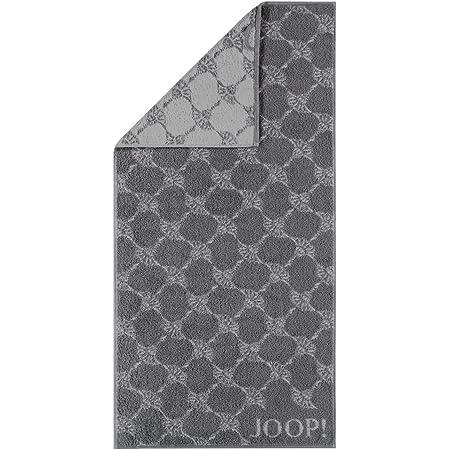 Joop! Handtuch Classic Cornflower 1611 | 77 anthrazit - 50 x 100
