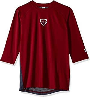 Under Armour Boys' Heater 3/4 Sleeve T-Shirt