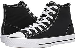 61e1a925b129 Black Black White. 129. Converse Skate. CTAS Pro Hi Skate