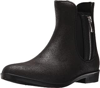 dav Women's Glasgow Suede Zip Rain Boot
