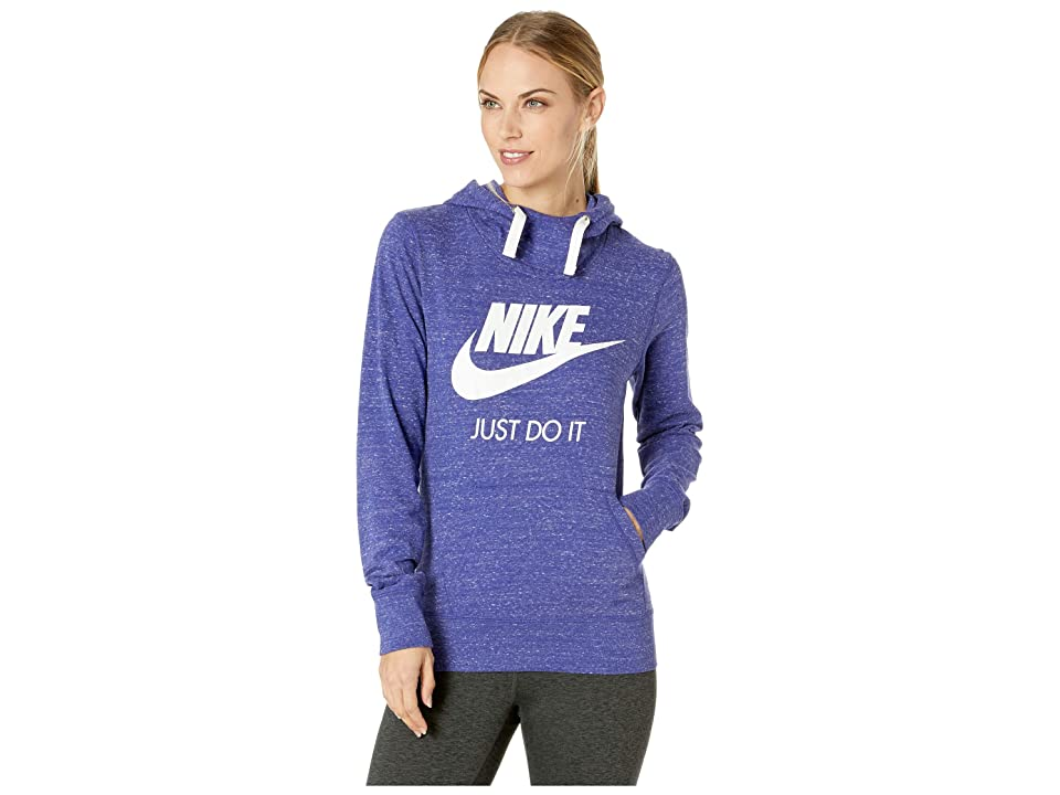 Nike Sportswear Gym Vintage HBR Hoodie (Regency Purple/Sail) Women