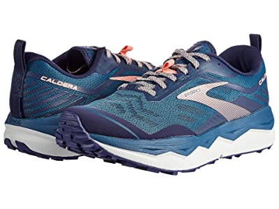 Brooks Caldera 4 (Blue/Peacoat/Desert Flower) Women