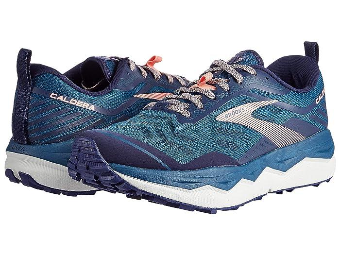 Brooks  Caldera 4 (Blue/Peacoat/Desert Flower) Womens Running Shoes