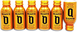 ReadyQ – Morning Guard | Drink the Night Before to Prevent Morning-After Recovery | All Natural, Theracurmin® Turmeric Formula | 6-Pack Set of 100ml Bottles | Mango & Peach Flavor