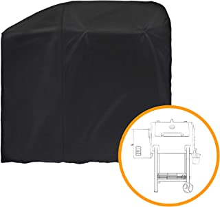 i COVER Grill Cover Designed for Pit Boss 700FB Wood Pellet Grills, Heavy Duty Waterproof Canvas Black Barbeque BBQ Grill Cover, G21626.